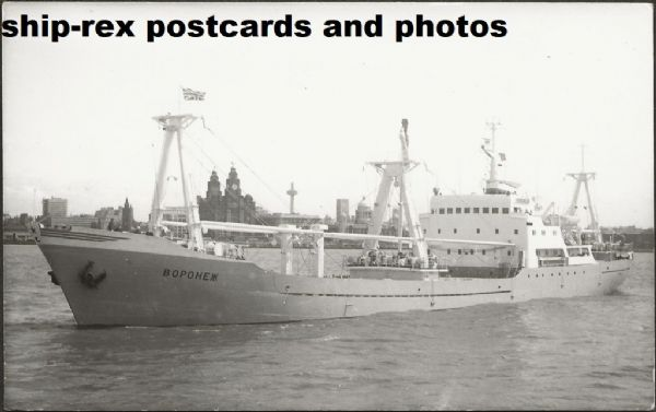 VORONEZH (1970, Northern Shipping Co) photo